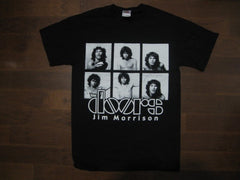 DOORS - Jim Morrison Black & White Boxed Photos- T-shirt