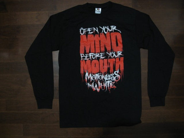 MOTIONLESS IN WHITE - Open Your Mind- Long Sleeve Shirt