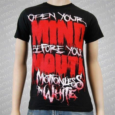 MOTIONLESS IN WHITE - Open Your Mind- t-shirt