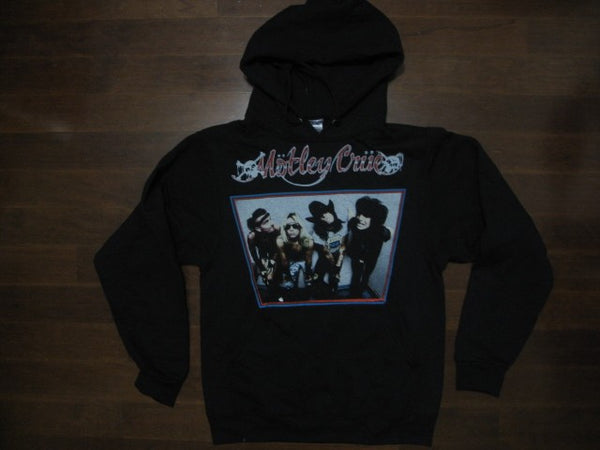 Motley Crue -GROUP - Hooded Sweatshirt