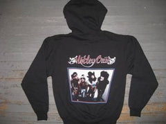 Motley Crue- ZIPPER -  Hooded Sweatshirt - Two Sided Print
