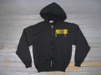 Motley Crue- ZIPPER -  Hooded Sweatshirt