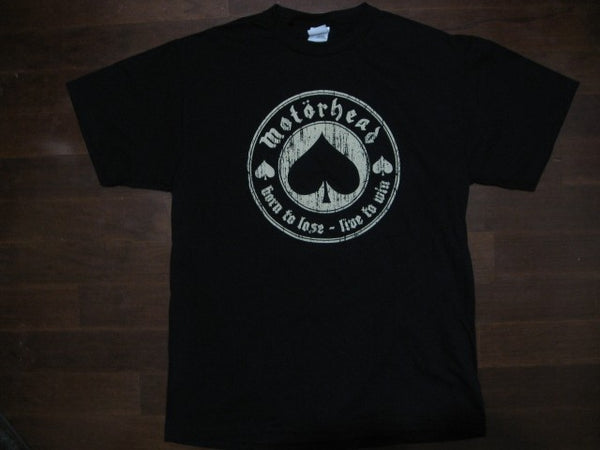 Motorhead- Born To Lose, Live To Win - T-shirt