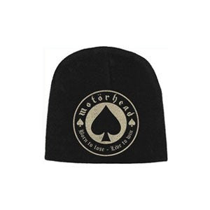 Motorhead - Embroidered -  Logo Beanie