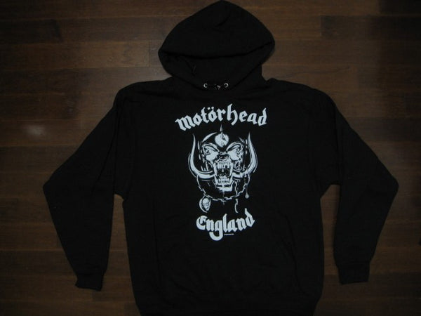 Motorhead- England - Hooded Sweatshirt /Two Sided Print
