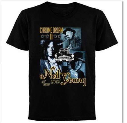 Neil Young- Tour 2007- T-shirt