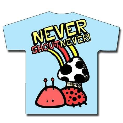 NEVER SHOUT NEVER-  T-shirt