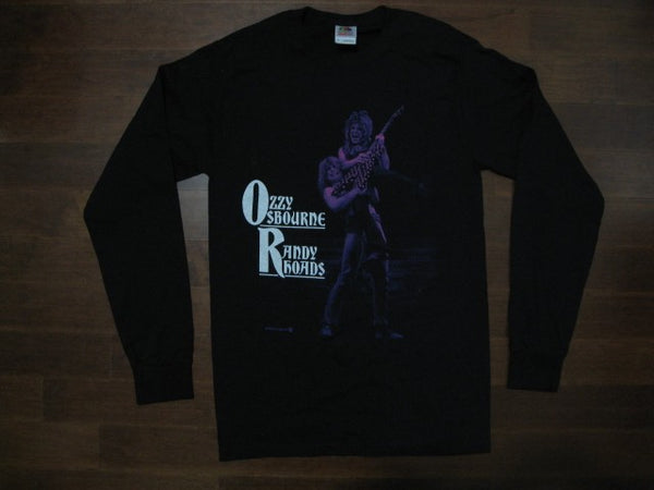 OZZY OSBOURNE  and RANDY RHOADS - Long Sleeve Shirt