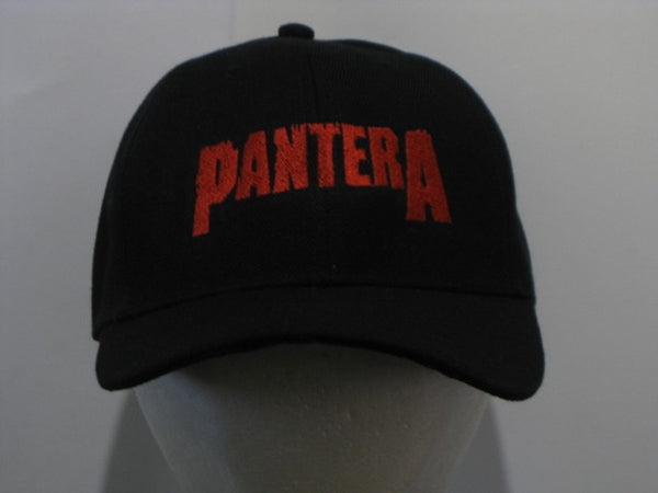 PANTERA - EMBROIDERED BASEBALL CAP - Adjustable Velcro Back -Unisex