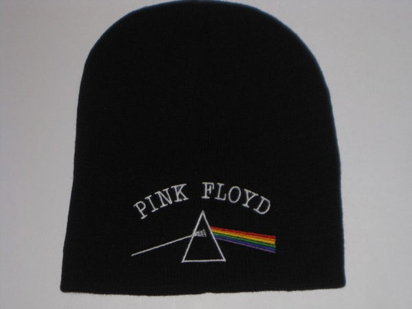 PINK FLOYD  - Embroidered - Logo Beanie