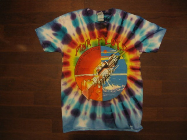 PINK FLOYD - WISH YOU WERE HERE / TIE DYE- T-shirt