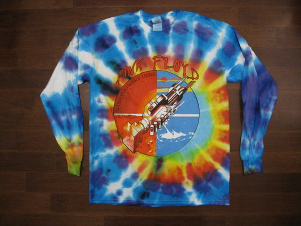PINK FLOYD- Wish You Were Here / LONG SLEEVE / TIE-DYE