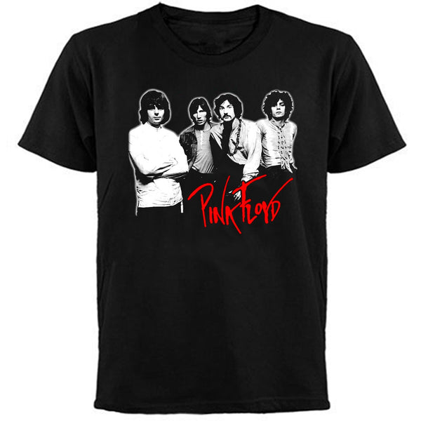 PINK FLOYD - GROUP-T-Shirt / Printed Front and Back