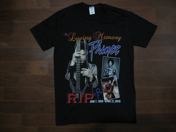 PRINCE‏ - In Loving Memory - T-Shirt