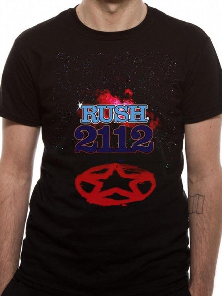 RUSH - 2112 Album Cover   t-shirt