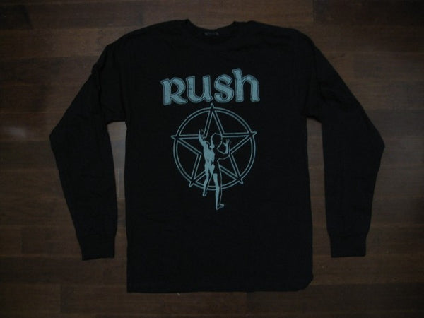 RUSH- STARMAN - LOGO - LONG SLEEVE SHIRT