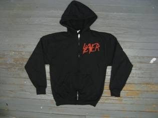 SLAYER-Slaytanic Wehrmacht- Zipper  Hoodie - Two Sided Print