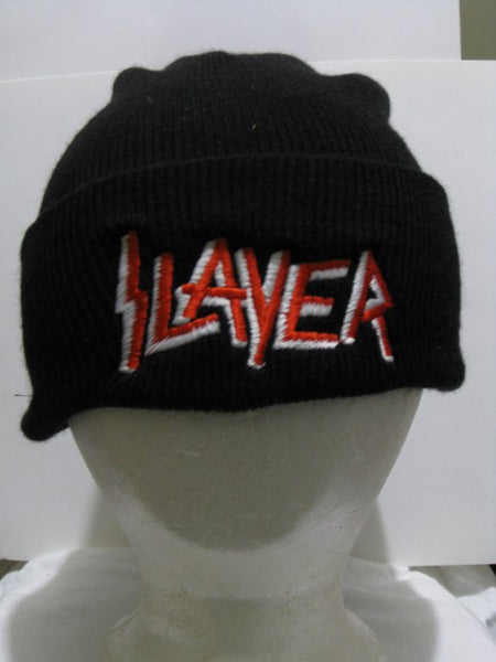 SLAYER - Embroidered visor beanie hat