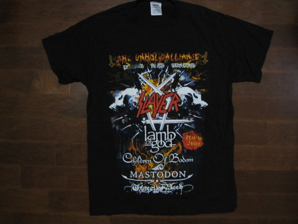SLAYER - The Unholy Alliance Tour 2006 - T-Shirt