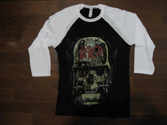 SLAYER - REPENTLESS-U.S. Tour 2016 -TWO SIDED PRINT - baseball Jersey - Long Sleeve Shirt