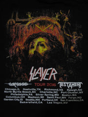 SLAYER - REPENTLESS-U.S. Tour 2016 -TWO SIDED PRINT- T-Shirt
