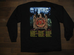 SLAYER /God Hates Us All / 2002 Tour - Long Sleeve Shirt Two Sided Print