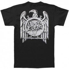 SLAYER - Logo- Two Sided Printed Unisex  T-shirt.