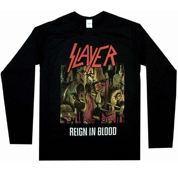 SLAYER / REIGN IN BLOOD /  Long Sleeve - T-Shirt