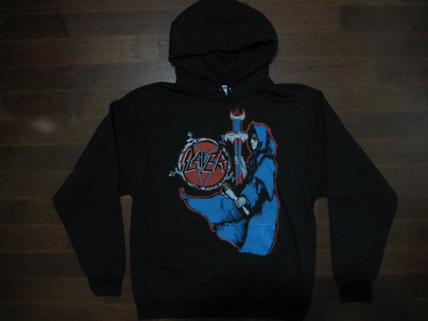 SLAYER-Spill The Blood  / Two Sided Print- Hoodie