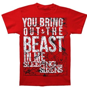 SLEEPING WITH SIRENS-T-Shirt: