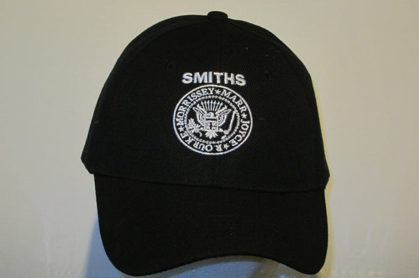 SMITHS - Logo - Embroidered Baseball Cap - One Size Fits All. Velcro Back. Unisex