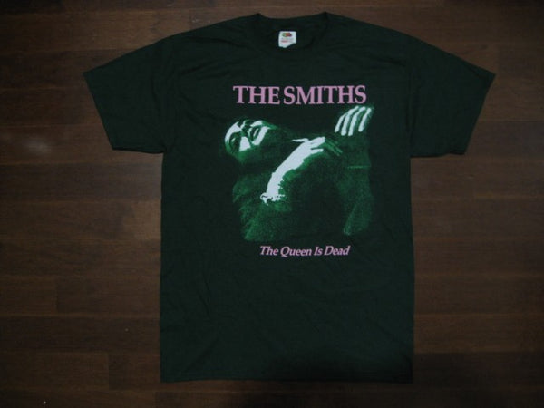 SMITHS- The Queen Is Dead-  t-shirt / Color>> Forest Green