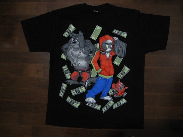 TOM & JERRY -CARTOON- T-SHIRT