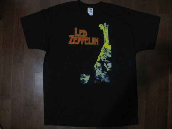 Led Zeppelin-Stairway To Heaven   TWO SIDED PRINT-T- Shirt