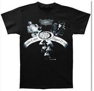 STEVIE RAY VAUGHAN  - Tribute Shirt 1954-1990- T-shirt