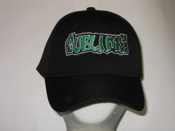 SUBLIME - EMBROIDERED BASEBALL CAP - Adjustable Velcro Back -Unisex