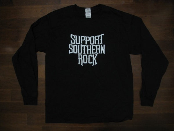 Lynyrd Skynyrd- Support Southern Rock- Long Sleeve Shirt- Two Sided Print
