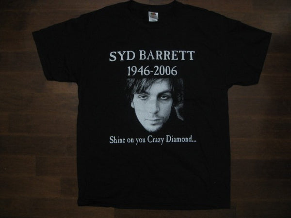 PINK FLOYD - SYD BARRETT- Tribute-T-shirt