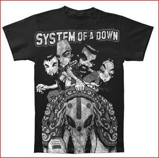 SYSTEM OF A DOWN - BOOM-T-shirt