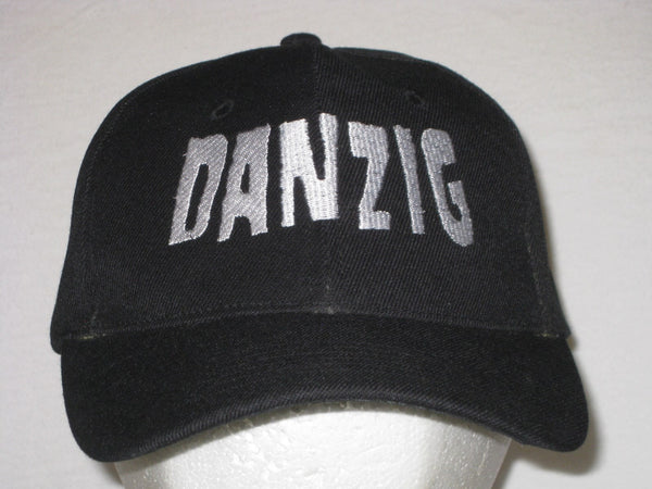 DANZIG- EMBROIDERED BASEBALL CAP - Adjustable Velcro Back