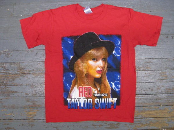 Taylor Swift- Red Tour 2013- Red-T-Shirt