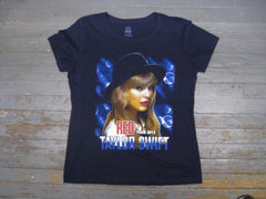 Taylor Swift- Red Tour 2013-Navy Blue-T-Shirt