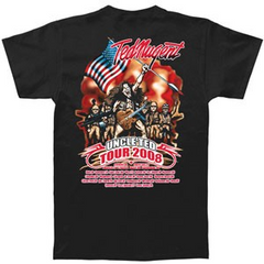 TED NUGENT ‏ 2008 Tour Shirt