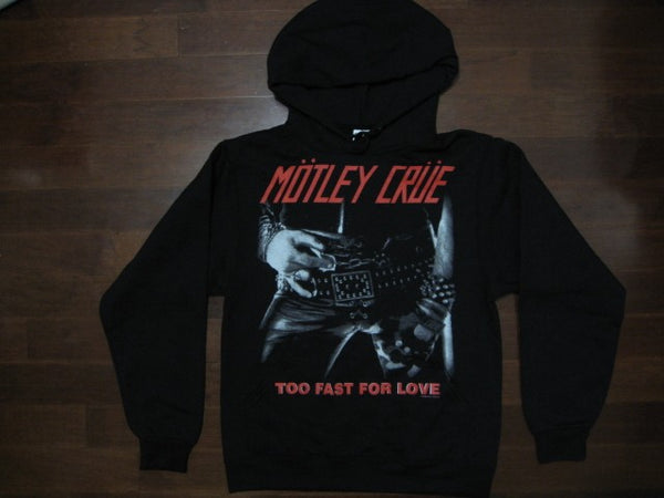 Motley Crue -TO FAST FOR LOVE - Hooded Sweatshirt