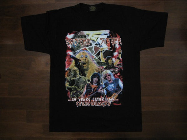 TWISTED SISTER - 20 Years Later T-shirt