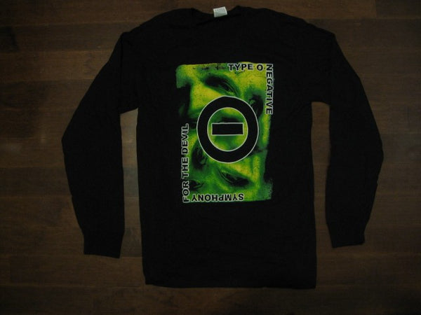 TYPE O NEGATIVE- Symphony For The Devil- Long Sleeve Shirt