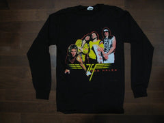 VAN HALEN‏ - ORIGINAL GROUP- Two Sided Print. Long Sleeve Shirt