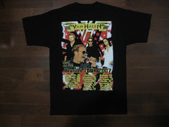 VAN HALEN‏ - Reunited Tour 2007-Two Sided Print - T-Shirt