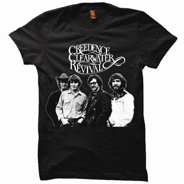 CREEDENCE CLEARWATER REVIVAL /  GROUP PHOTO / T- Shirt