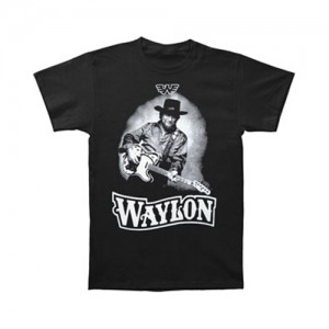 WAYLON JENNINGS‏ -  T-Shirt